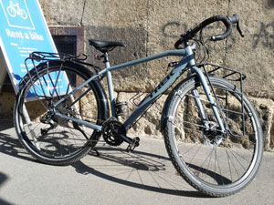 "Trek 920 (2017), male frame, frame size 21.5"" colour: Matte Battleship Blue"