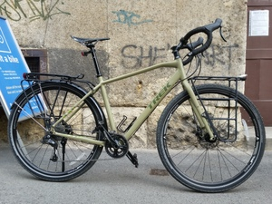 "Trek 920 (2016), male frame, frame size 22"" colour: Matte Olive Drab"