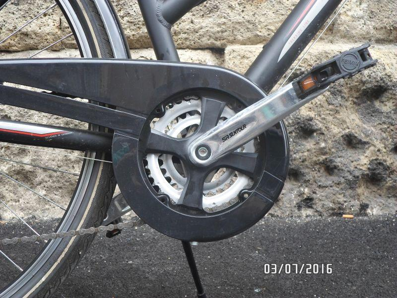 Crankset on Adler Bilbao