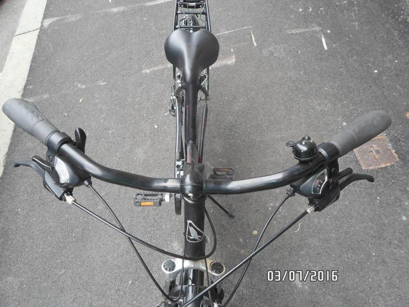 Handlebar & shifters on Adler Bilbao